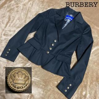 バーバリーブルーレーベル(BURBERRY BLUE LABEL)の定価34,000円‼︎美品☆BURBERRY テーラードジャケット(テーラードジャケット)