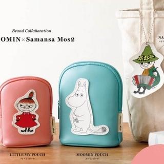 サマンサモスモス(SM2)の◆MOOMIN × Samansa Mos2  ポーチ2種 & ネームタグ(ファッション)