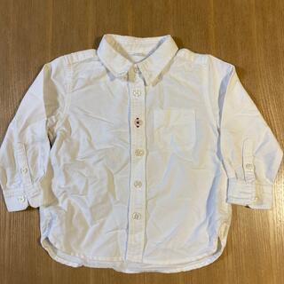 ムジルシリョウヒン(MUJI (無印良品))のシャツ 無印 90(ブラウス)