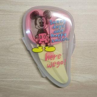 ディズニー(Disney)の離乳食 フードカッター ミッキー(離乳食調理器具)