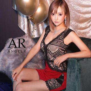 AngelR - ar8302/エンジェルアール/AngelR/花柄レース刺繍タイトミニドレス