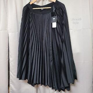 ユニクロ(UNIQLO)の【本日限定価格】UNIQLO×Theory プリーツラップスカート(ロングスカート)