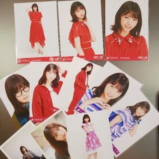 ノギザカフォーティーシックス(乃木坂46)の西野七瀬 生写真 OCT18 NOV JAN(アイドルグッズ)