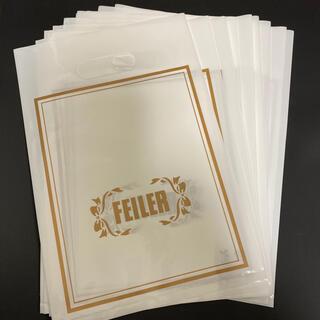 フェイラー(FEILER)のフェイラー🌟ギフト用ビニール手提げ袋(ショップ袋)