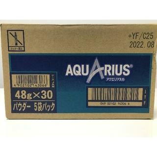 コカ・コーラ - AQUARIUS(アクエリアス) 1リットル用パウダー×30個分