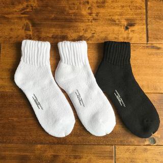 【新品未使用品・3足セット】UNIVERSAL PRODUCTS ソックス 靴下