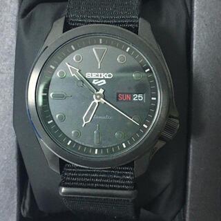 セイコー(SEIKO)の超美品! セイコー メンズ 機械式 手巻き 自動巻 セイコー5ストリート(腕時計(アナログ))