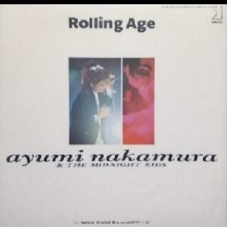 【送料無料】シングルレコード♪中村あゆみ♪Rolling Age♪(ポップス/ロック(邦楽))