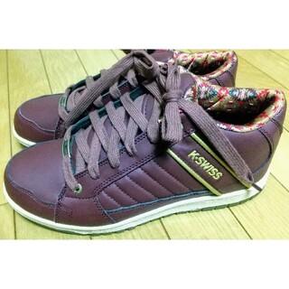 新品完売スニーカー靴27cmK-SWISS SPU110WPシューズ靴茶(スニーカー)