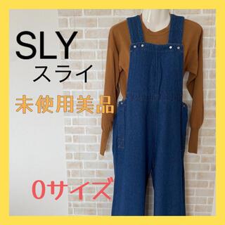 スライ(SLY)の秋物 SLY サロペット オールインワン 0サイズ(SS相当)(サロペット/オーバーオール)
