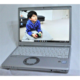 エヌイーシー(NEC)のlet's note CF-SZ5 COREi5-6300U 128SSD 4G(ノートPC)