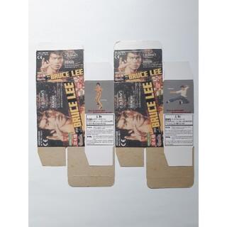 ブルース・リー 輸入版 ミニフィギュア ※空き箱2枚(印刷物)