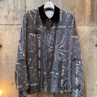 サカイ(sacai)のsacai x DrWoo Bandana Print Shirt ブルゾン (ブルゾン)