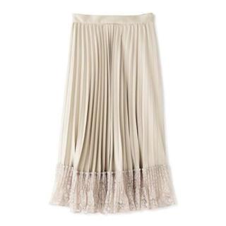 ジルスチュアート(JILLSTUART)のJILLSTUART 裾レーススカート(ロングスカート)