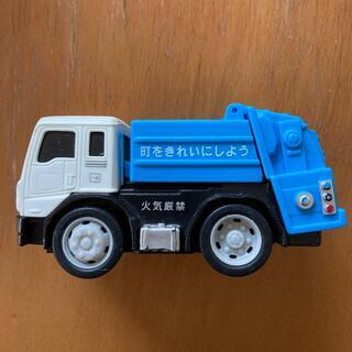 清掃車 おもちゃ プルバックカー(ミニカー)