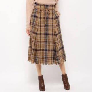 ミラオーウェン(Mila Owen)のミラオーウェン チェックスカート(ひざ丈スカート)
