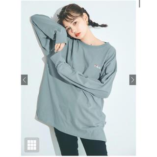 グレイル(GRL)のグレイル FILA Tシャツ(Tシャツ(長袖/七分))
