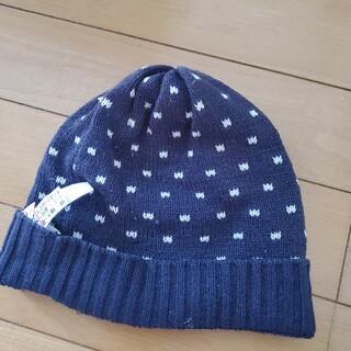 ムジルシリョウヒン(MUJI (無印良品))のベビーキッズ無印ニット帽(帽子)