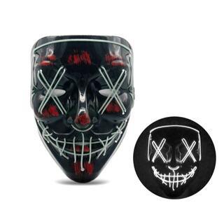 【新品・未使用】LED光るホラーマスク (小道具)
