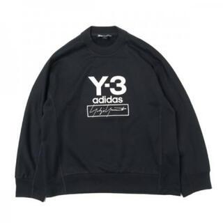 ワイスリー(Y-3)の■Y-3 stacked logo sweat XL☆超希少★オーバーサイズ(スウェット)