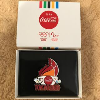 コカ・コーラ - 東京2020 ピンバッチ 聖火