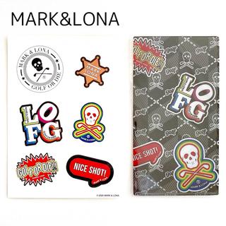 マークアンドロナ(MARK&LONA)のMARK&LONA マークアンドロナ ステッカー マスクケース 非売品(その他)