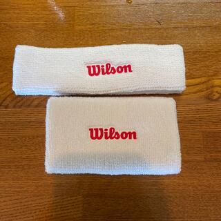 wilson - Wilson リストバンド ヘアバンドセット 未使用