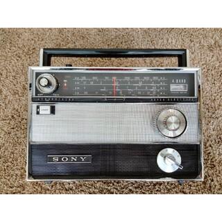 SONY - ソニー SONY TR-1000 レトロ BCL 短波 中波 トランジスタラジオ