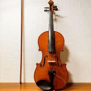【ネック背面美杢良反響】スズキ No.550 4/4 バイオリン 1979(ヴァイオリン)