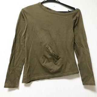 ジャンポールゴルチエ(Jean-Paul GAULTIER)のゴルチエ 長袖Tシャツ サイズ40 M - カーキ(Tシャツ(長袖/七分))