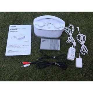 トウシバ(東芝)のTOSHIBA ワイヤレスステレオスピーカーシステム TY-WSD11(スピーカー)