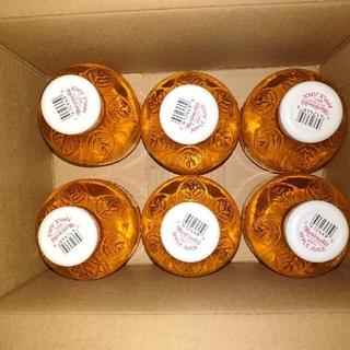 コストコ(コストコ)の♪可愛い瓶入り♪☆非濃縮生搾り100%ストレートアップルジュース296㎖×6本(ソフトドリンク)