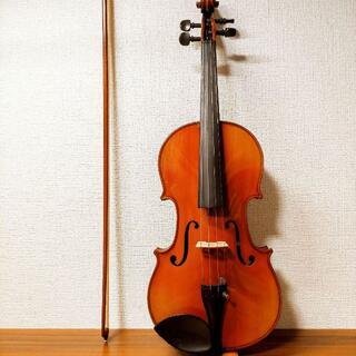 【パリ良反響麗音】T.J.Holder ストラドモデル 4/4 バイオリン(ヴァイオリン)