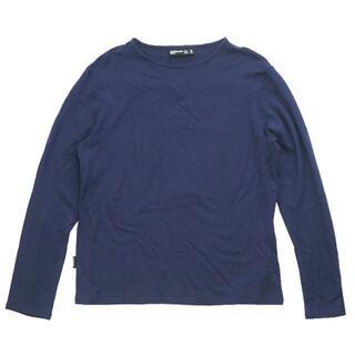 モンベル(mont bell)のICEBREAKER ディアイスロングスリーブボートネック S(Tシャツ/カットソー(七分/長袖))