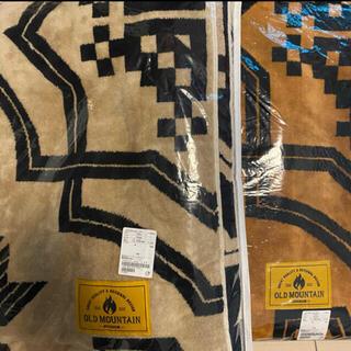 ビューティアンドユースユナイテッドアローズ(BEAUTY&YOUTH UNITED ARROWS)のオールドマウンテン ブランケット KAKEMONO koti 2枚セット(寝袋/寝具)