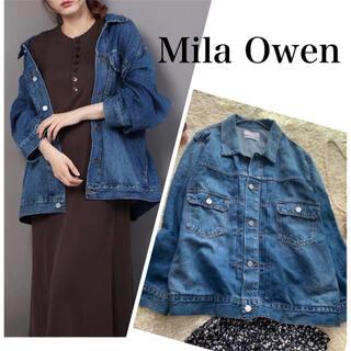 ミラオーウェン(Mila Owen)の2021SS ミラオーウェン デニムジャケット Gジャン オーバーサイズ(Gジャン/デニムジャケット)