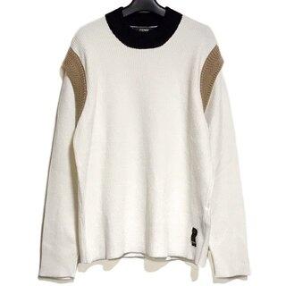 フェンディ(FENDI)のフェンディ 長袖セーター サイズ52 L美品 (ニット/セーター)