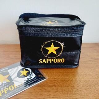 サッポロ(サッポロ)のサッポロ 保冷バック+コースター(ノベルティグッズ)