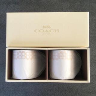 コーチ(COACH)のCOACH  ペアマグカップ 新品未使用(グラス/カップ)