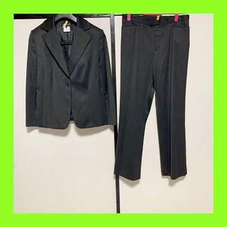 インディヴィ(INDIVI)のインディヴィパンツスーツ 44サイズ カラーグレー(スーツ)