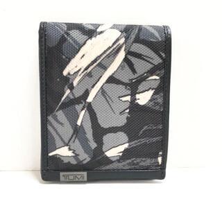 トゥミ(TUMI)のトゥミ 札入れ美品  - 黒×グレー×白(財布)