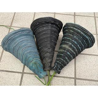 綱木紋吊り鉢3個セット(プランター)