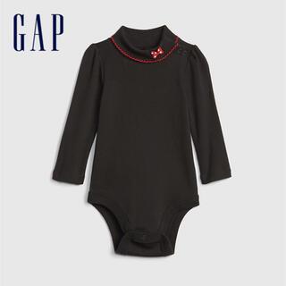 ベビーギャップ(babyGAP)の新品 babyGAP モックネック ミニー ボディスーツ 70cm(肌着/下着)