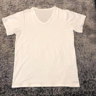 ヨネックス(YONEX)のヨネックス メンズ 半袖Tシャツ アンダーウェア Mサイズ 肌着 ホワイト (Tシャツ/カットソー(半袖/袖なし))