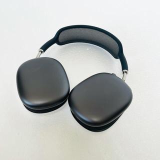 アップル(Apple)の【美品】Apple AirPods Max スペースグレー(ヘッドフォン/イヤフォン)