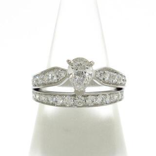 CHAUMET - ショーメ リング美品  K18WG×ダイヤモンド