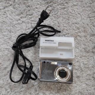 ペンタックス(PENTAX)のPENTAX Optio 本体 充電器(コンパクトデジタルカメラ)