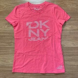 ダナキャランニューヨーク(DKNY)のDKNY JEANS レディース半袖Tシャツ(ピンク・M)(Tシャツ(半袖/袖なし))