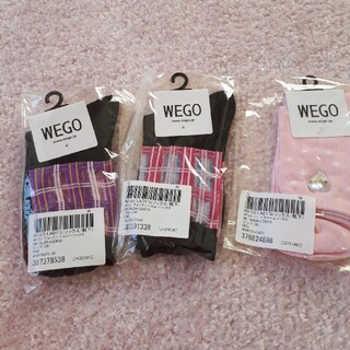 ウィゴー(WEGO)のWEGO 靴下3点セット(ソックス)