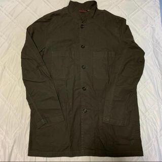 コモリ(COMOLI)のVETRA スタンドカラージャケット Khaki 40(カバーオール)